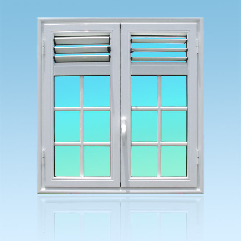 Fenêtre ouvrante en aluminium OF24 lames ventilantes aluminium ABD Fermetures