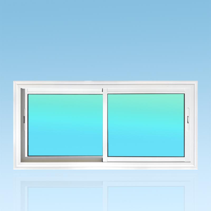 Fenêtre coulissante CF21-PANORAMIQUE aluminium 2 vantaux ABD Fermetures