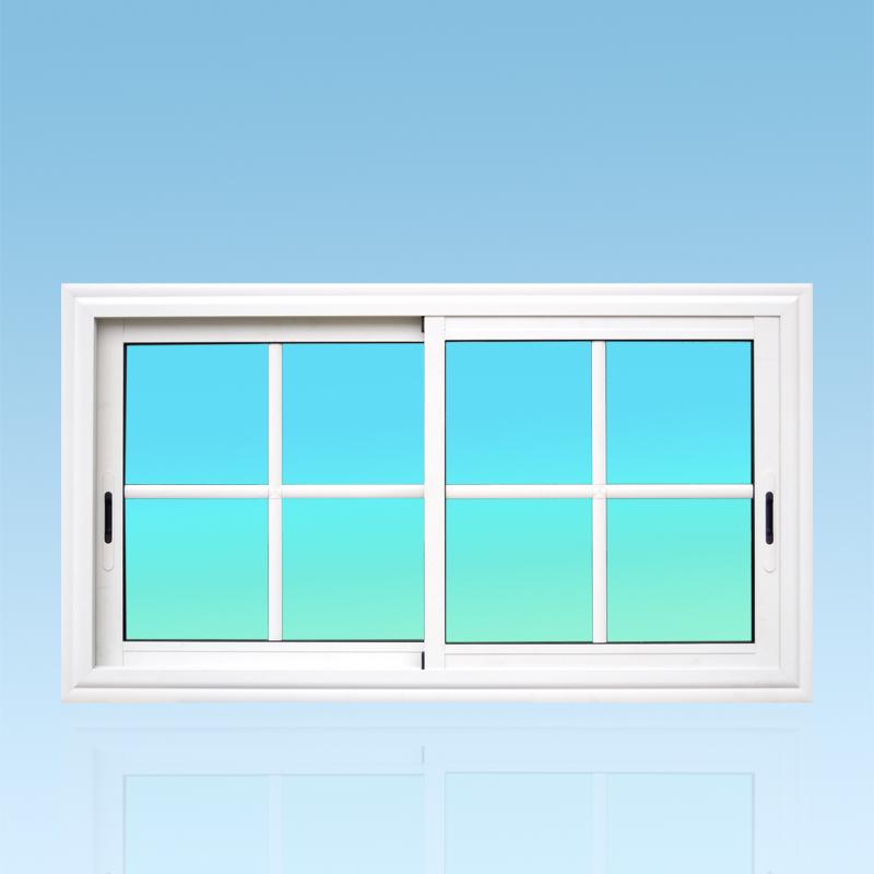 Fenêtre coulissante CF22-PANORAMIQUE aluminium 2 vantaux ABD Fermetures