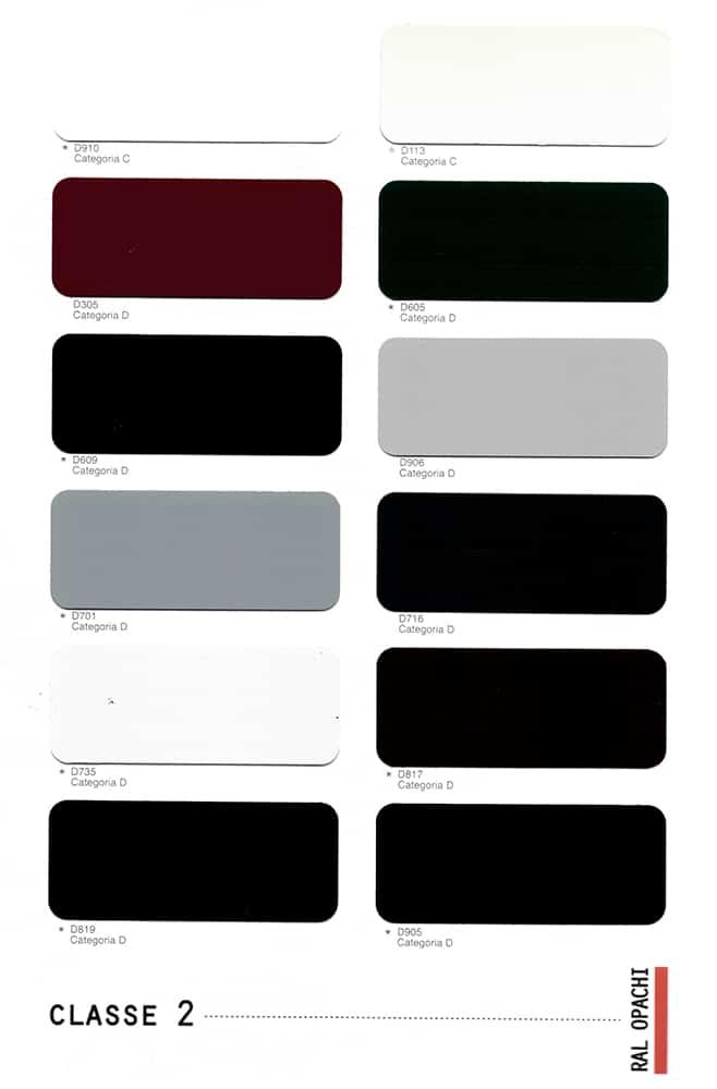 Nuancier couleurs des menuiseries aluminium ABD FERMETURES