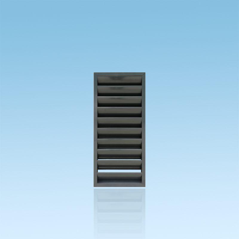 Brise vue en aluminium anthracite de la gamme ZÉPHYR ABD FERMETURES.
